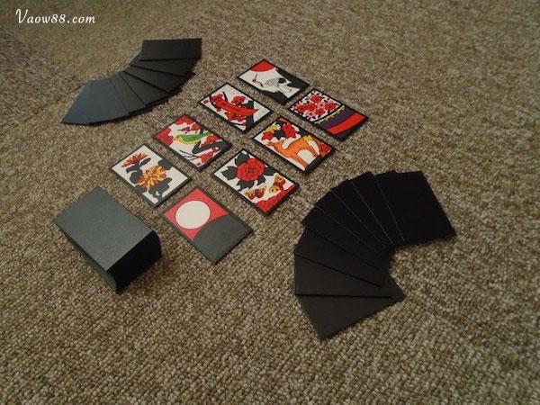 Cách thiết lập một bàn chơi bài Hoa Hanafuda