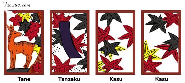 Tháng 10 tượng trưng bởi lá Momiji