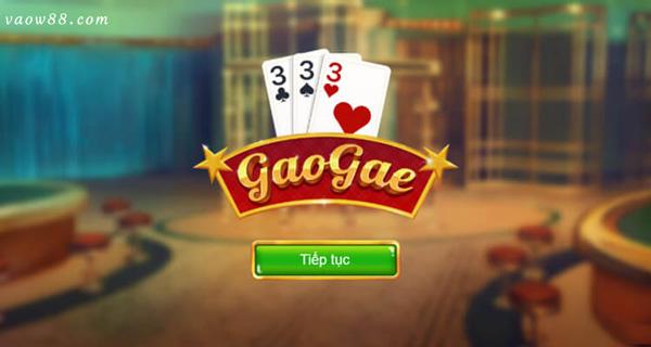 Game bài Gao Gae online cực hot tại nhà cái trực tuyến W88