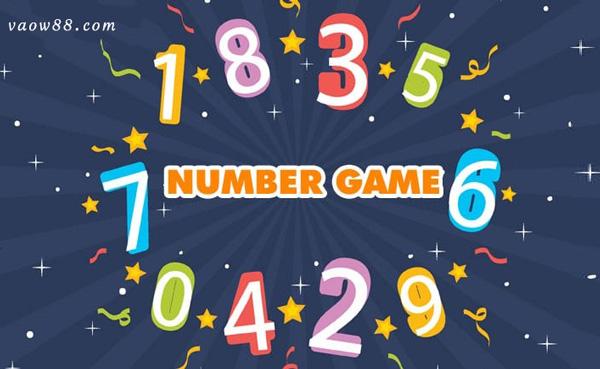 cách chơi number game