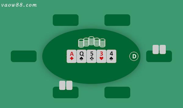 Vòng cuối cùng là ngửa bài và phân định thắng thua
