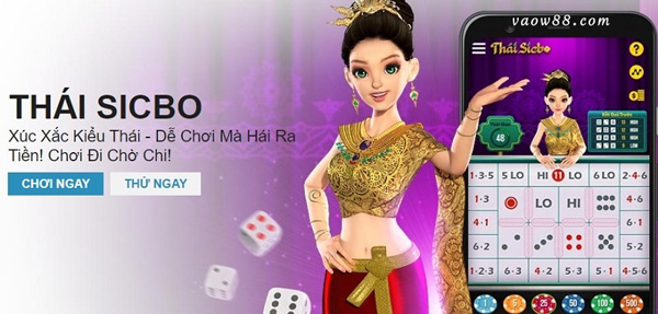Tiến hành truy cập vào game Thái Sicbo tại trang chủ nhà cái W88