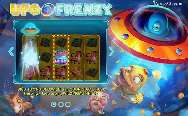 cách chơi ufo frenzy slot cực chi tiết