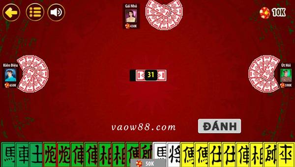 Cách tính điểm thắng và thua trong game đánh bài tứ sắc online tại W88