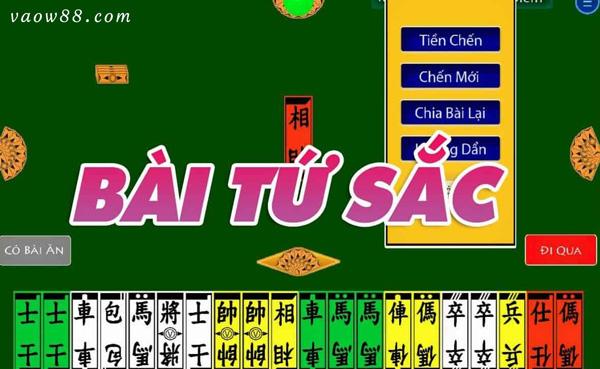 Giới thiệu sơ lược về game đánh bài tứ sắc tại nhà cái W88