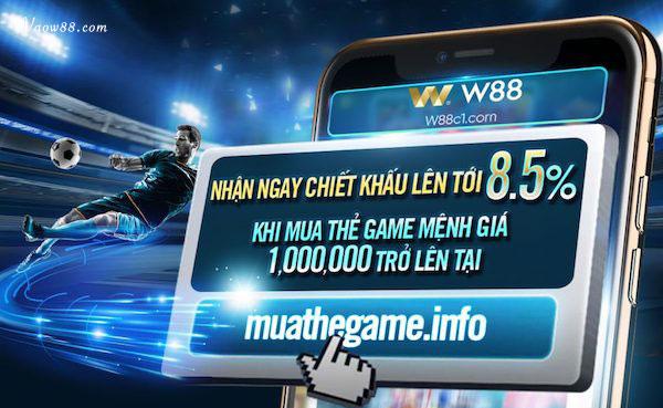 nhận ngay chiết khấu lên tới 8,5% khi mua thẻ game tại MUATHEGAME.INFO