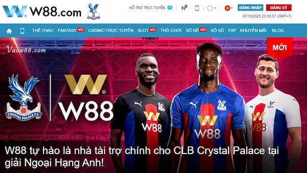 Nhà tài trợ chính cho CLB Crystal Palace