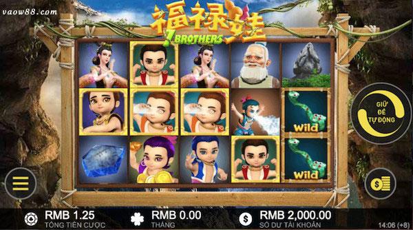 Tựa game 7 anh em Hồ Lô siêu thân thiện với người chơi