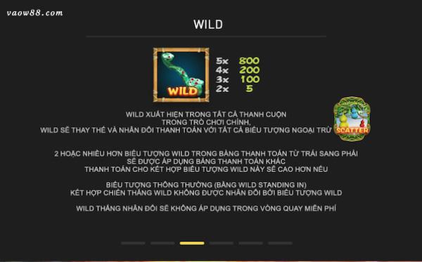 Tính năng chiến thắng Wild