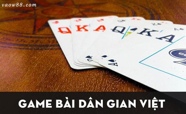 Game bài dân gian Việt Nam siêu phổ biến tại nhà cái W88