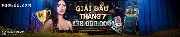 Giải đấu Casino trực tuyến V3 với nhiều phần thưởng cực kỳ hấp dẫn tại nhà cái W88