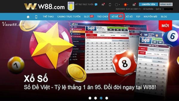 Xổ số Việt - Đổi đời ngay tại W88