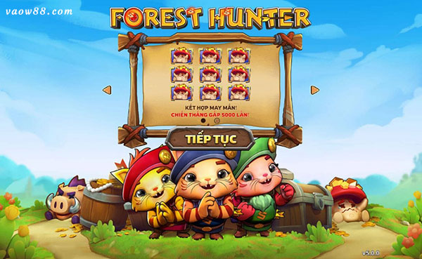 Hướng dẫn chơi the forest hunter slot tại nhà cái w88