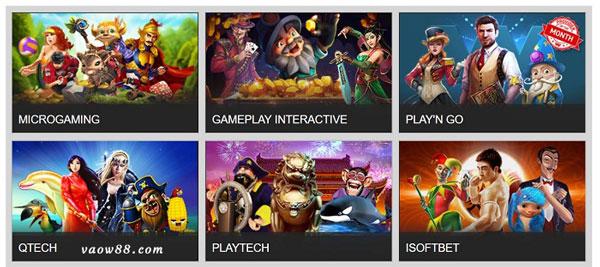 Các thể loại game của nhà phát triển GamePlay Interactive