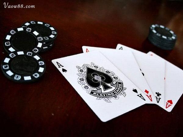 Thắng trắng khi chơi bài Catte