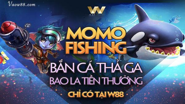 W88 - Tham gia bắn cá ăn tiền nhận thưởng hấp dẫn