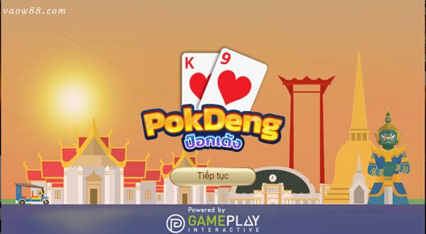 Giới thiệu game bài Pok Deng tại nhà cái cá cược trực tuyến W88