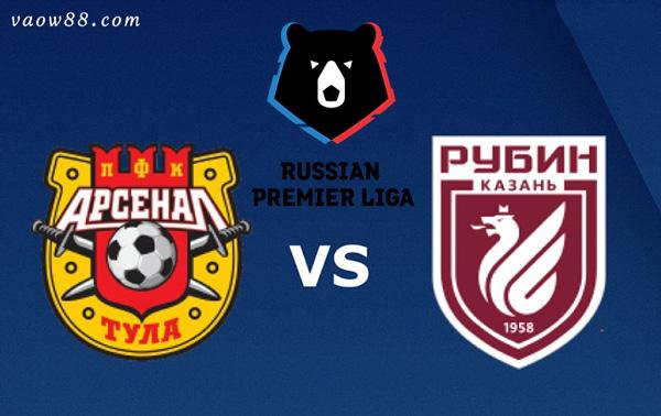 Soi kèo nhà cái trận Arsenal Tula vs Rubin Kazan 23h00 30/07/2021 tại W88