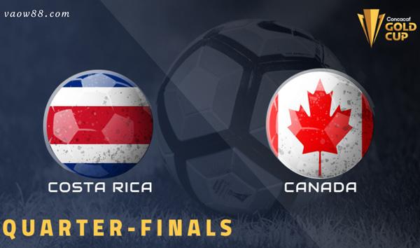 Soi kèo nhà cái trận Costa Rica vs Canada 06h00 ngày 26/07/2021