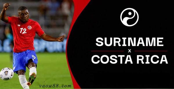 Soi kèo nhà cái trận Costa Rica vs Suriname 7h30 ngày 17/07/2021 chuẩn xác nhất tại W88
