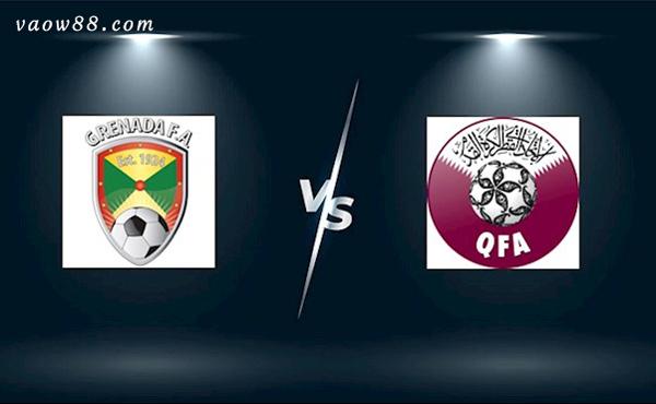 Soi kèo nhà cái trận Grenada vs Qatar 6h30 ngày 18/07/2021 tại W88