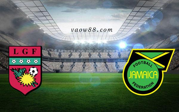 Soi kèo nhà cái trận Guadeloupe vs Jamaica 5h30 ngày 17/7/2021 tại W88
