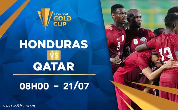 Soi kèo nhà cái trận Honduras vs Qatar 8h ngày 21/7/2021