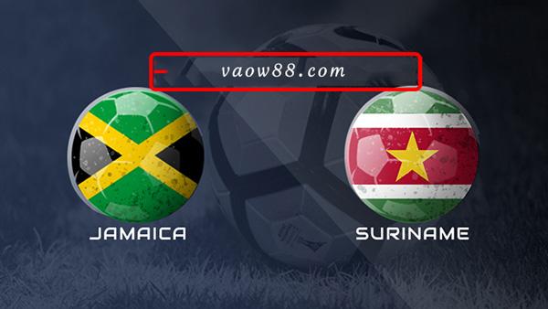Soi kèo nhà cái trận Jamaica vs Suriname 5h30 ngày 13/07/2021