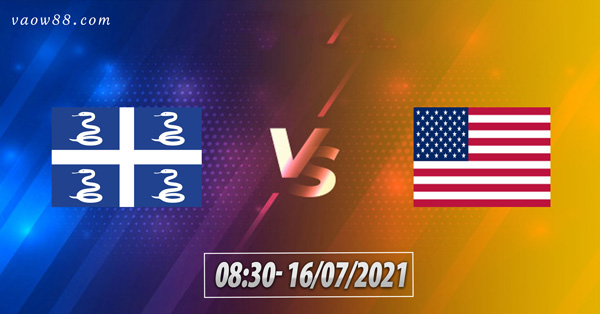 Soi Kèo nhà cái Trận Martinique vs Mỹ 8h30 Ngày 16/7/2021 tại nhà cái W88