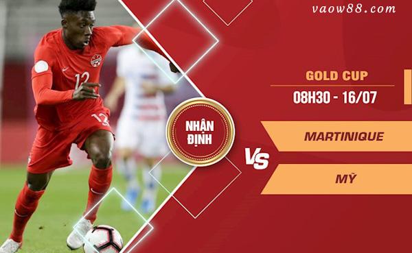 Soi Kèo nhà cái Trận Martinique vs Mỹ 8h30 Ngày 16/7/2021