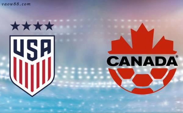 soi kèo nhà cái trận Mỹ vs Canada 04h00 ngày 19/07/2021