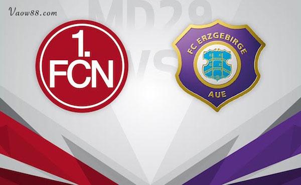 Soi kèo nhà cái trận Nurnberg vs Erzgebirge Aue 18h30 ngày 25/07/2021 cực chuẩn