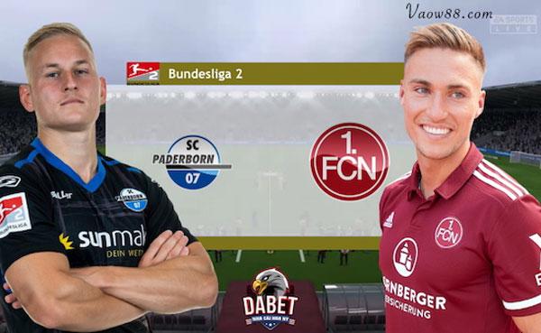 Soi kèo nhà cái trận Paderborn vs Nurnberg 23h30 30/07/2021