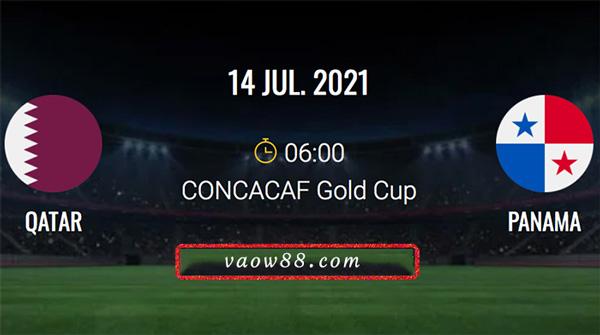 Soi kèo nhà cái trận Qatar vs Panama 6h ngày 14/7/2021 tại W88
