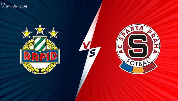 Soi kèo nhà cái trận Sparta Praha vs Rapid Wien 01h30 29/07/2021 tại W88