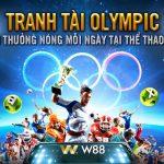 Tranh tài Olympic – Rinh thưởng nóng mỗi ngày tại thể thao W88 cực hot