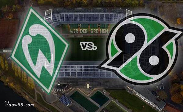 Soi kèo nhà cái trận Werder Bremen vs Hannover 96 01h30 ngày 25/07/2021