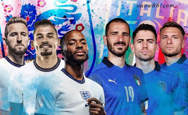 Soi kèo nhà cái trận Ý vs Anh 02h00 ngày 12/07/2021 tại W88