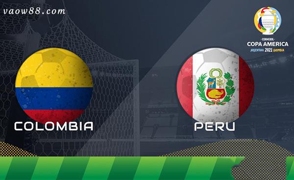Soi kèo nhà cái trận Colombia vs Peru 7h ngày 10/7/2021