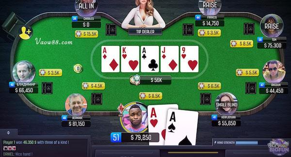 Thuật ngữ vị trí trên bài Poker