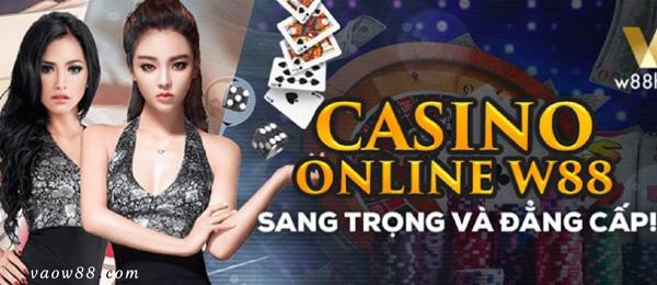 W88 Casino online - Điểm đến hàng đầu cá cược tại Việt Nam