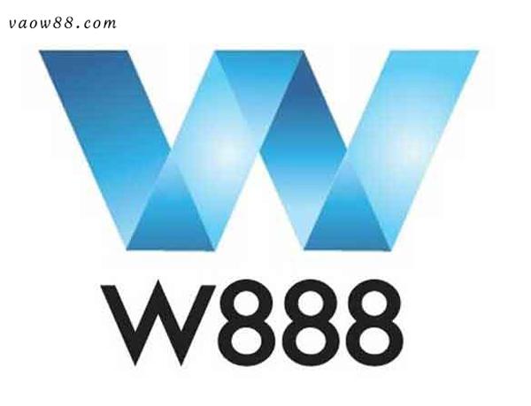 Giao diện website đơn giản của nhà cái W888
