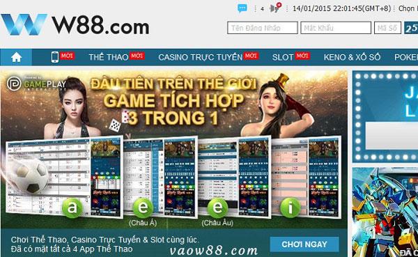 Tại W88bet có chế độ chơi thử cho hầu hết các thể loại trò chơi cá cược