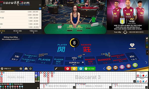 Các thể loại game bài Casino trực tuyến cực hấp dẫn tại W88