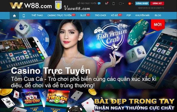 Casino trực tuyến tại W88
