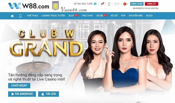 W88 - Cá cược online hàng đầu Việt Nam