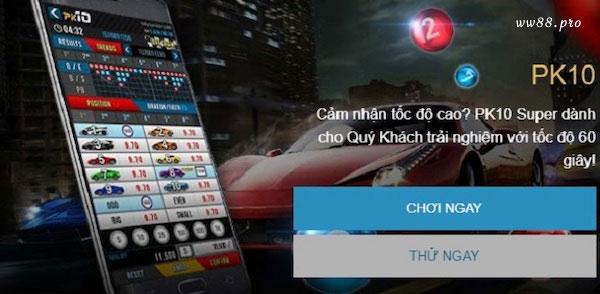 PK10 - trò chơi đua xe xổ số ăn khách