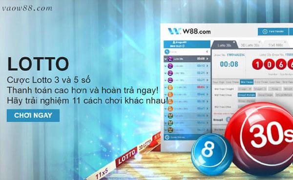 Tìm hiểu cách chơi xổ số lotto tại nhà cái W88