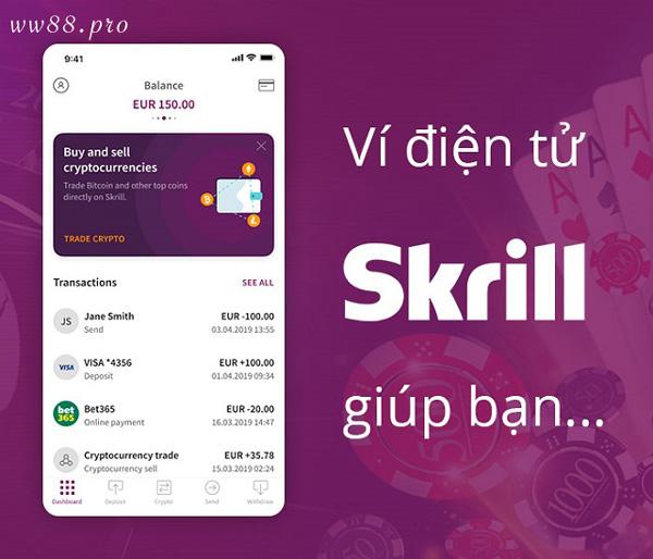 Tìm hiểu các thông tin và tính năng cơ bản của ví điện tử Skrill