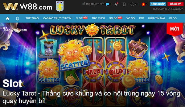 Slot game tại nhà cái W88